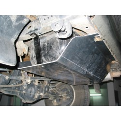Protection reservoir de carburant alu N4 Toyota Landcruiser 90 (96-02)