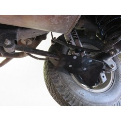Protection amortisseurs arriere alu N4 Toyota Landcruiser 150 (09-)