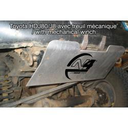 Protection avant alu N4 Toyota Landcruiser 80 (90-98)