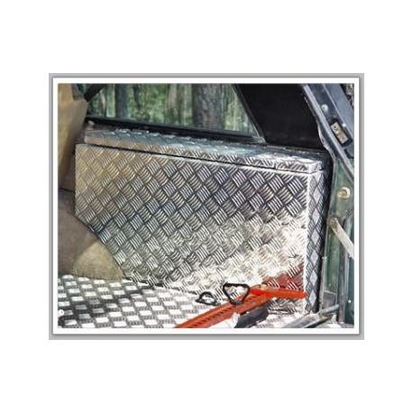 recouvrement alu stri boite a outils coffre afn range rover classic. Black Bedroom Furniture Sets. Home Design Ideas