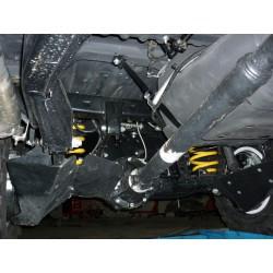 Protection amortIsseurs arriere alu N4 Toyota Landcruiser 80 (90-98)
