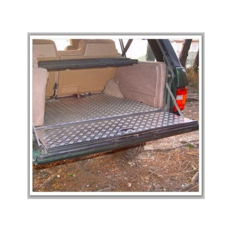 recouvrement alu stri plancher hayon coffre afn range rover classic. Black Bedroom Furniture Sets. Home Design Ideas