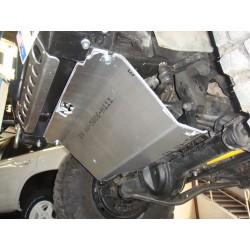 Protection avant alu N4 Toyota Landcruiser LJ/KZJ 70/73 (84-95)