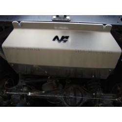 Protection reservoir alu N4 Toyota Landcruiser LJ/KZJ 73 (84-95)