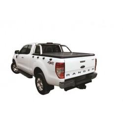 Tonneau cover alu noir Ford Ranger Dble Cab (12-15)