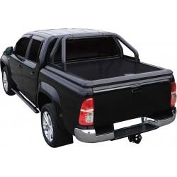 Couvre benne alu noir UPSTONE pour Toyota Hilux Dble Cab (05-15)