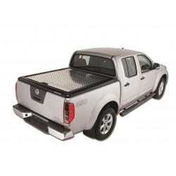 Couvre benne alu UPSTONE pour Nissan Navara D40 Dble Cab (05-15)