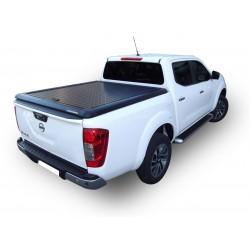 Couvre benne alu noir UPSTONE pour Nissan Navara NP300 Dble Cab (16-)