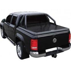 Couvre benne alu noir UPSTONE pour VW Amarok Dble Cab (10-)