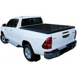 Couvre benne alu noir UPSTONE pour Toyota Hilux Revo Extra Cab (16-)