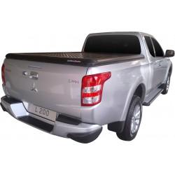 Couvre benne alu noir UPSTONE pour Mitsubishi L200 Club Cab (16-)