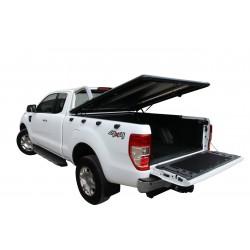Couvre benne alu noir UPSTONE pour Ford Ranger Dble Cab (12-15)