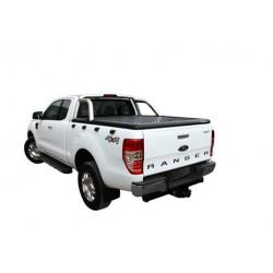 Couvre benne alu noir UPSTONE pour Ford Ranger Super Cab (12-15)