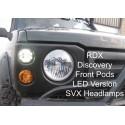 Facelift RDX avec optique de phare SVX et feux Leds Land Rover Discovery 1