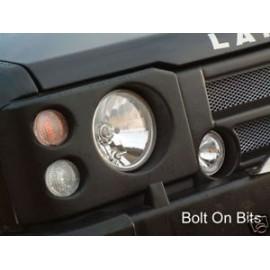 Facelift RDX avec optique de phare cristal et feux hublots Land Rover Discovery 1