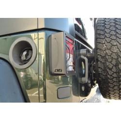 Protection feux arrière Jeep Wrangler JK (07-17)