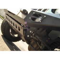 Protection avant acier zingué noir D6 Jeep JK
