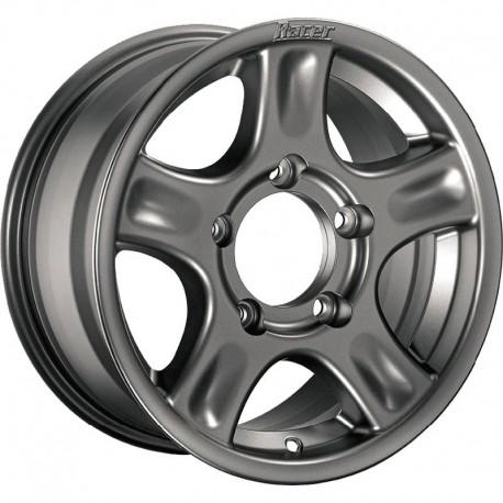 Jante aluminium RACER Argentée 7x16 5x165.1 ET10 CB116.1