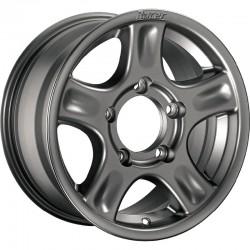 Jante aluminium RACER Argent 8x17 5x120 ET38 CB72.6