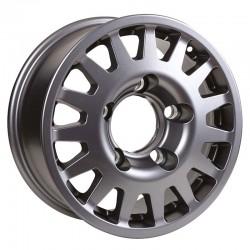 Jante aluminium MANANO Argent 8x17 6x114.3 ET30 CB66.1