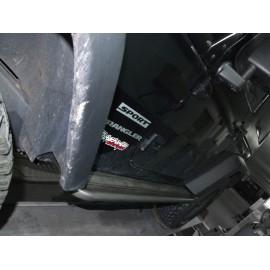 Barres latérales avec support Hi-lift AFN jeep JK (+alu)