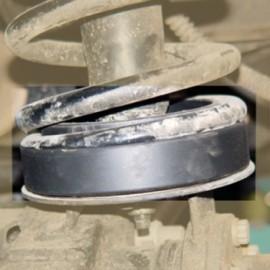 Cale de rehausse ressort avant +40mm AFN Defender