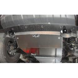 Protection avant alu N4 Nissan Navara D40 (05-15)