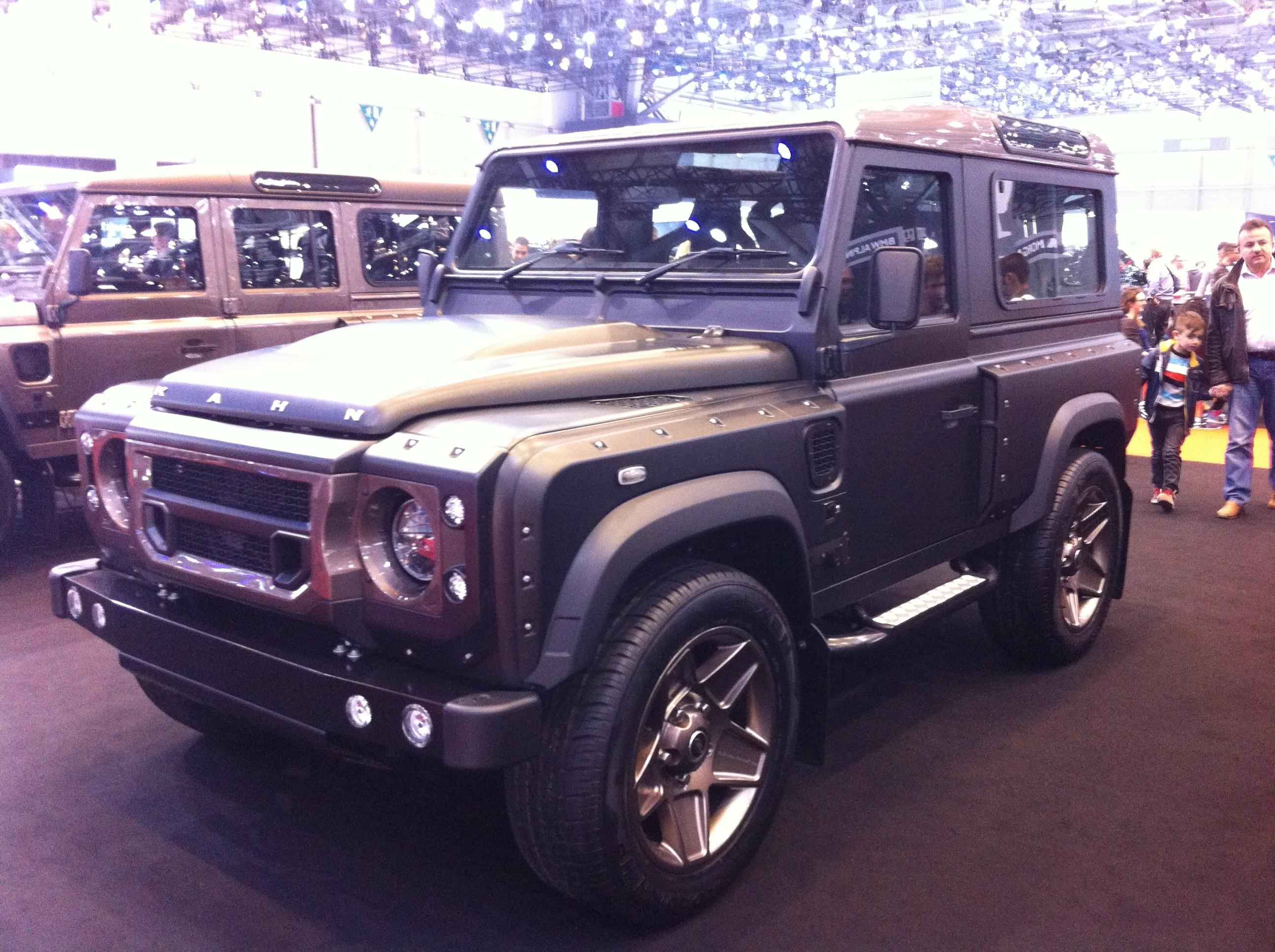 Le Land Rover Defender 90 Kahn