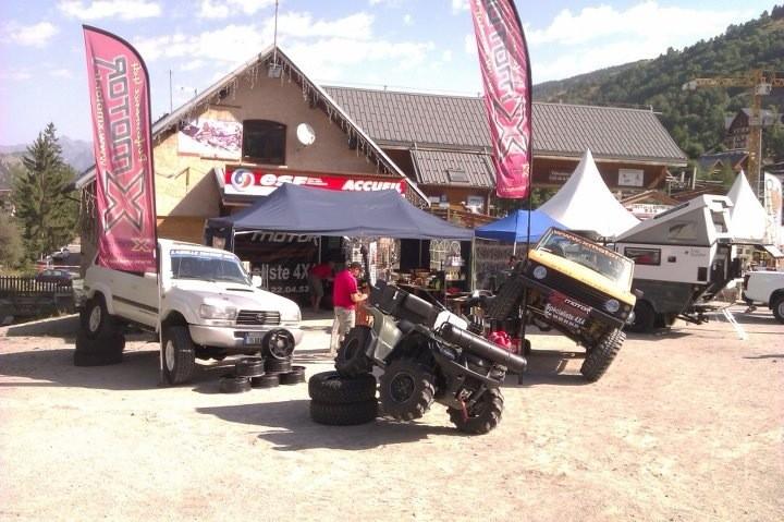 X MOTOR à la foire du tout terrain à Valloire (73)