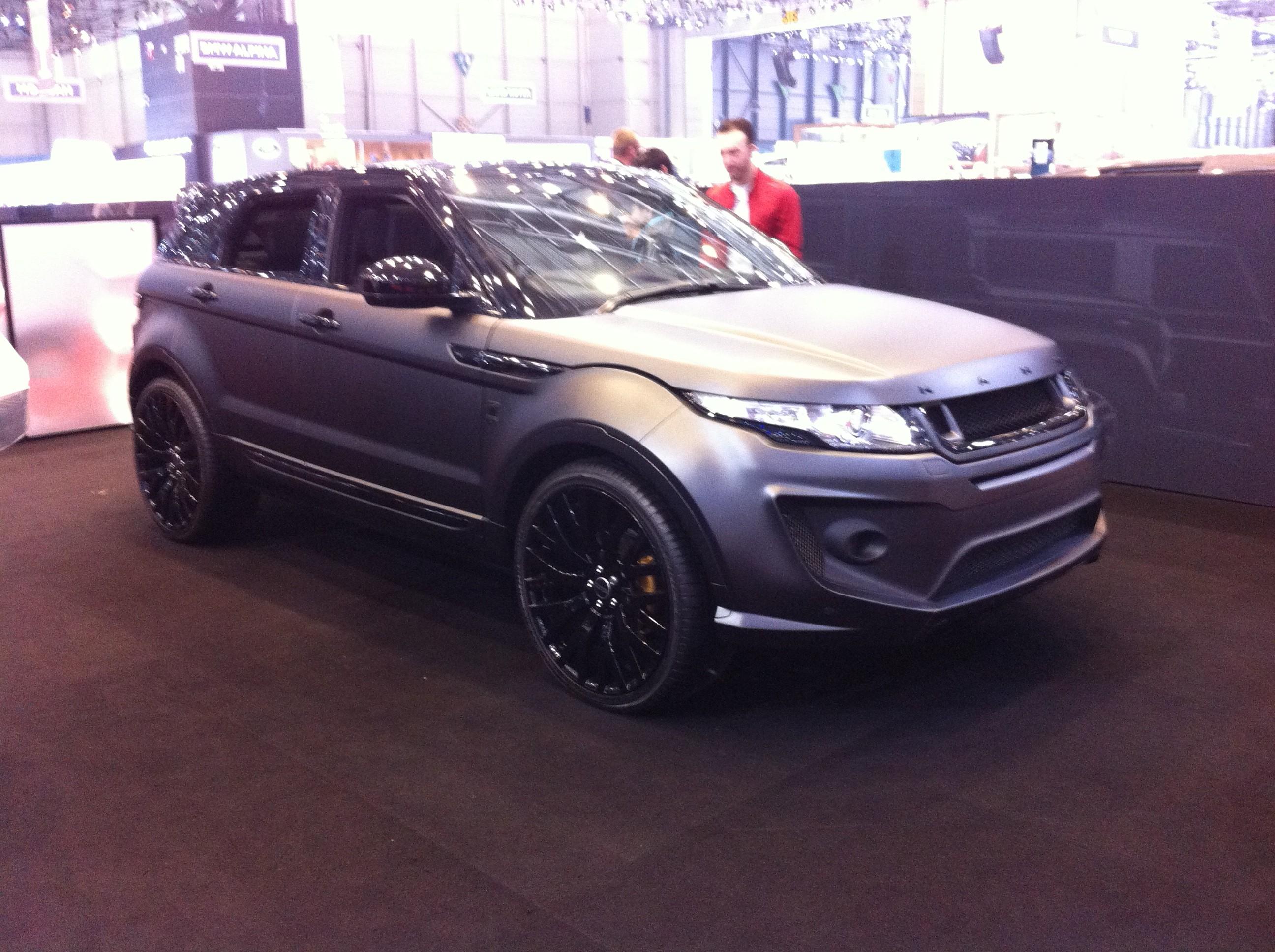 Le Range Rover Evoque kahn